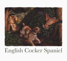 Dog Breed - the English Cocker Spaniel Kids Tee
