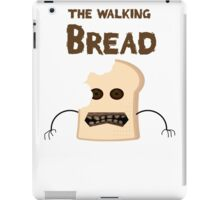 the walking bread iPad Case/Skin