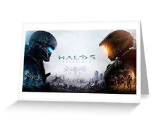 Halo Greeting Card
