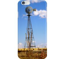 Windmill in Moriarty, New Mexico iPhone Case/Skin