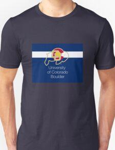 University of Colorado Boulder / Colorado Flag + Unisex T-Shirt