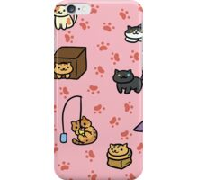 Neko Paw Prints iPhone Case/Skin