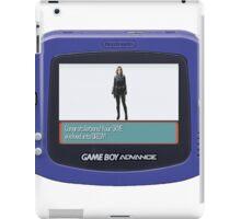 Skye Evolved Into Daisy! - GBA Version iPad Case/Skin