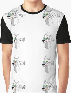 Evil Wolf Asshole Graphic T-Shirt