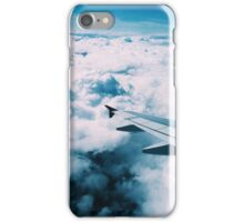 Flying over the Pacific iPhone Case/Skin