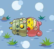 Mega Slowbro Poncho Pikachu Nap by Eat Sleep Poke Repeat