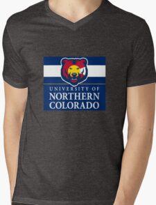 University of Northern Colorado / Colorado Flag Mens V-Neck T-Shirt
