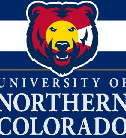 University of Northern Colorado / Colorado Flag Sticker