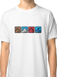 Earth Wind Fire Water Classic T-Shirt