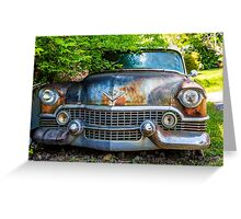 Classic Cadillac Greeting Card