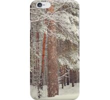 Snowy Memory of the Woods  iPhone Case/Skin