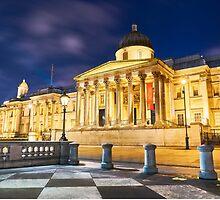 National Gallery in London, UK by Nando MacHado