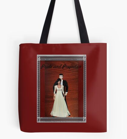 Pride and Prejudice Darcy and Lizzy Tote Bag