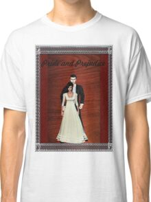 Pride and Prejudice Darcy and Lizzy Classic T-Shirt