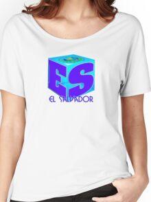 El Salvador cubo Women's Relaxed Fit T-Shirt