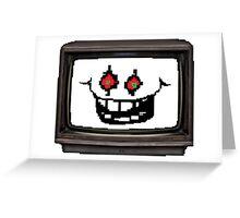 Flowey tv Greeting Card