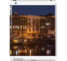 Night Lights on the Amsterdam Canals 7. Holland iPad Case/Skin