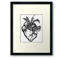 Braided Heart Framed Print