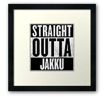 Straight Outta Jakku Framed Print