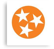 Tennessee Orange Tristar Canvas Print