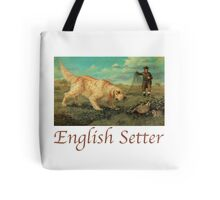 Dog Breed - the English Setter Tote Bag