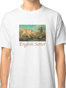 Dog Breed - the English Setter Classic T-Shirt
