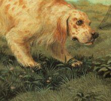 Dog Breed - the English Setter Sticker