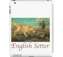 Dog Breed - the English Setter iPad Case/Skin