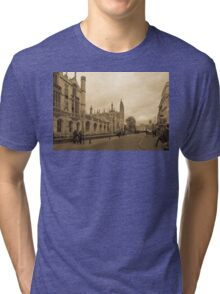 Cambridge, King's College 7 Tri-blend T-Shirt