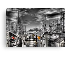 Down at the pier Canvas Print