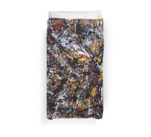 Number 2 Abstract Duvet Cover