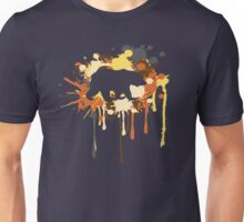 Splat Bear Unisex T-Shirt