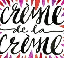 Crème de la Crème – Pink Palette Sticker