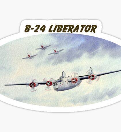 B-24 Liberator Aircraft Sticker