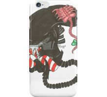 Candy Cane Xenomorph iPhone Case/Skin