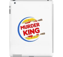 "Burger King Parody ""Murder King"" iPad Case/Skin"