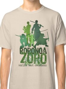 Roronoa Zoro (One Piece) - Words edition Classic T-Shirt