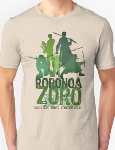 Roronoa Zoro (One Piece) - Words edition T-Shirt