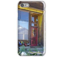 Days Gone By in Leadville Colorado  iPhone Case/Skin