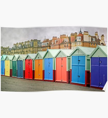 Hove Huts and Mansions Poster