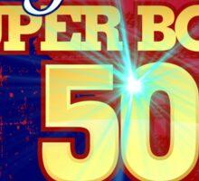Super Bowl 50 II Sticker