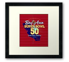 Super Bowl 50 II Framed Print