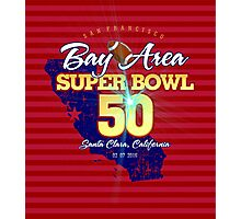 Super Bowl 50 II Photographic Print