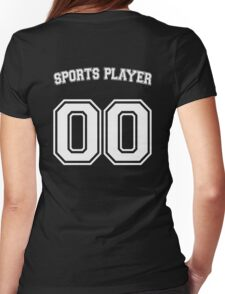 Sports Player Womens Fitted T-Shirt