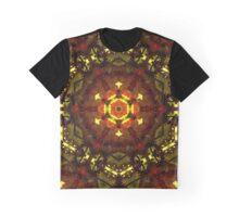Grape Mandala Graphic T-Shirt