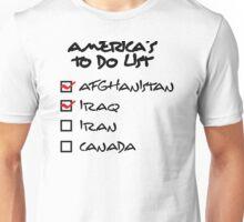 America s to-do list Unisex T-Shirt