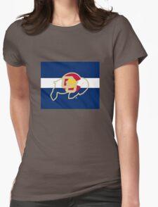 University of Colorado Boulder / Colorado Flag - Womens Fitted T-Shirt