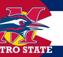 Metro State / Colorado Flag Sticker