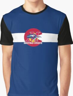 Metro State / Colorado Flag Graphic T-Shirt