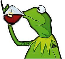 Kermit the Thug Photographic Print